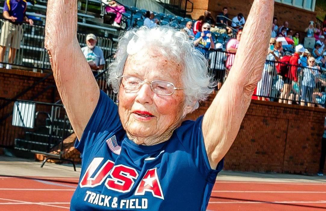 A dédi, aki 100 évesen kezdett futni