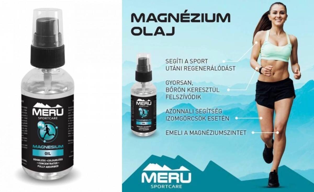 Új MERU termék: már kapható a magnézium spray!