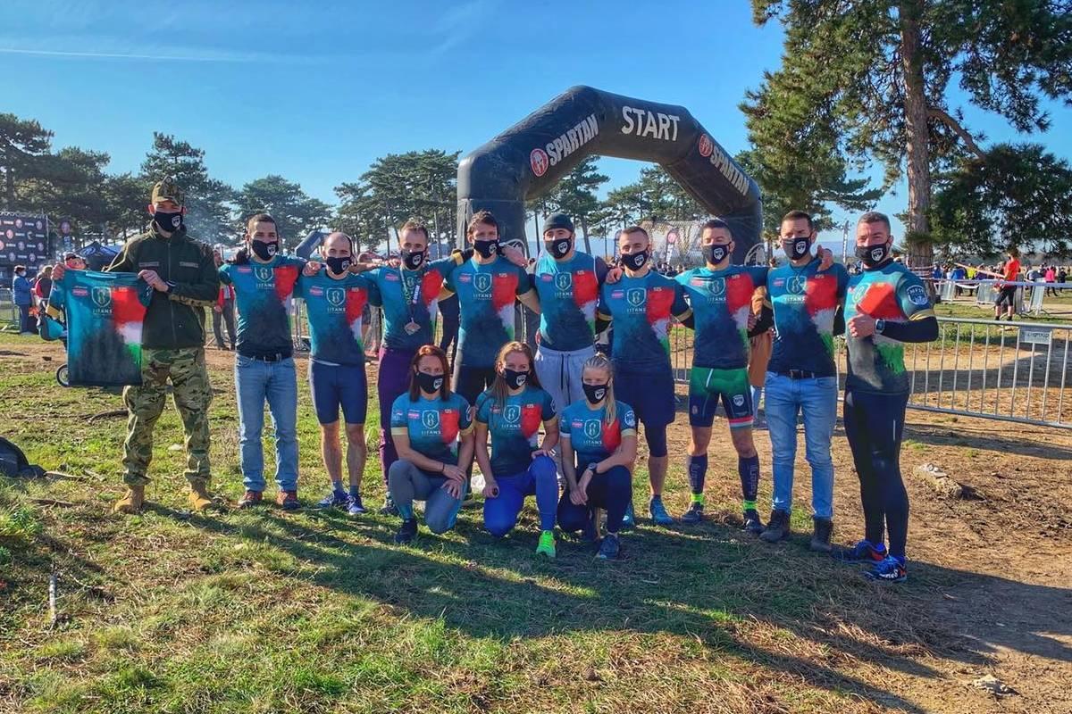 17 egyéni éremmel zárt partnerünk a Spartan Honor Race-en!
