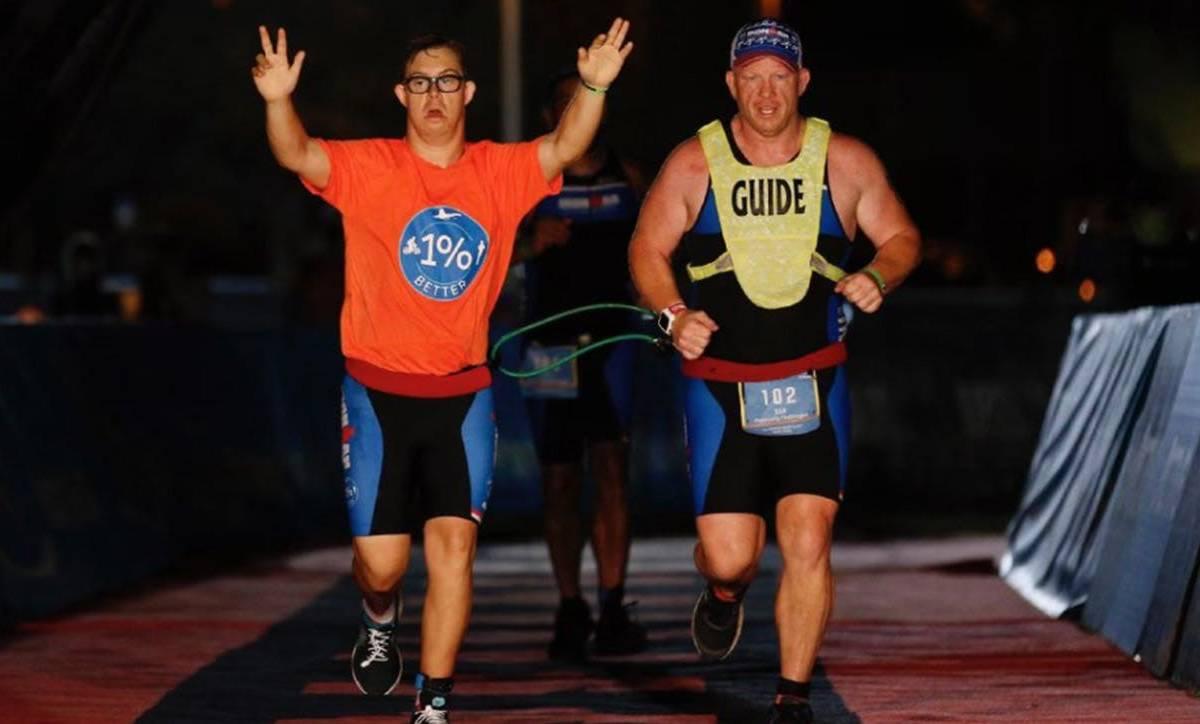 Chris az első Down-szindrómás, aki Ironman lett!