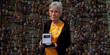 84 évesen is maratont fut a lelkes nagymama