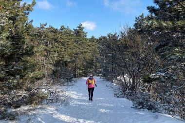 Edit elárulja, hogyan kell télen futni
